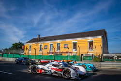 #3 Audi Sport Team Joest Audi R18 E-Tron Quattro: Filipe Albuquerque, Marco Bonanomi, Oliver Jarvis ; #43 Newblood By Morand Racing Morgan - Judd: Christian Klien, Gary Hirsch, Romain Brandela ; #77 Dempsey Racing - Proton Porsche 911 RSR (991)