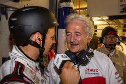 Hugues de Chaunac interviewé après la pole position de Toyota