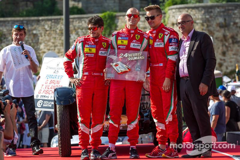 Gianmaria Bruni, Toni Vilander, Giancarlo Fisichella