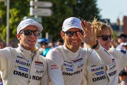 Timo Bernhard, Mark Webber, Brendon Hartley