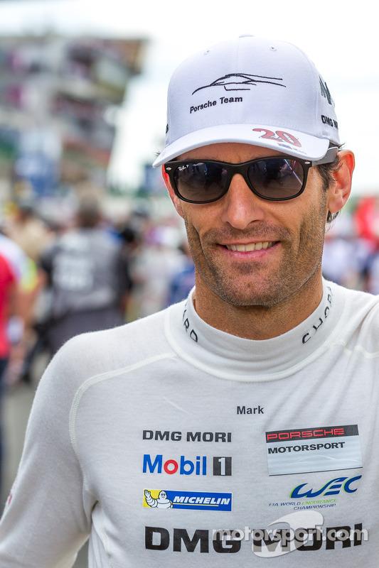 Mark Webber volta a Le Mans
