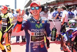 Secondo posto in qualifica per Jorge Lorenzo, Yamaha Factory Racing