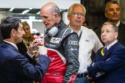 Pierre Fillon, Wolfgang Ullrich et Jean Todt
