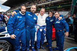 Sergey Zlobin和他的车组成员