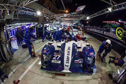 Arrêt au stand - #27 SMP Racing Oreca 03 - Nissan: Sergey Zlobin, Mika Salo, Anton Ladygin