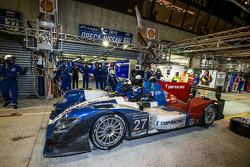 Pit stop para o #27 SMP Racing Oreca 03 - Nissan: Sergey Zlobin, Mika Salo, Anton Ladygin