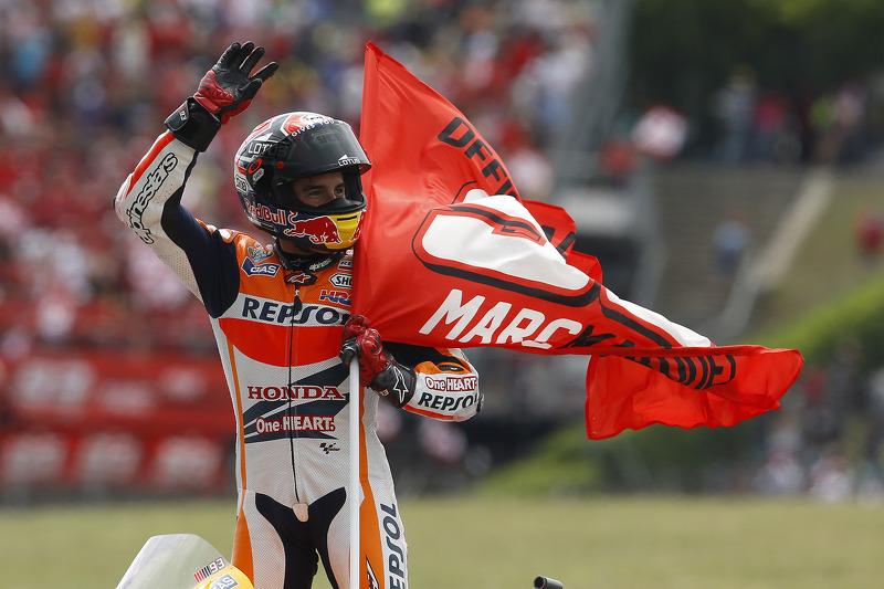 Ganador de la carrera Marc Márquez, Repsol Honda Team