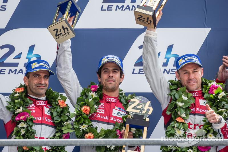 2014 - 24h de Le Mans: 2º Lugar em (Audi)