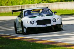 Butch Leitzinger testa la Bentley Continental GT3