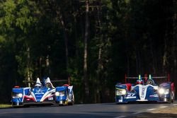#47 KCMG Oreca 03 - Nissan: Matthew Howson, Richard Bradley, Alexandre Imperatori; #27 SMP Racing Or