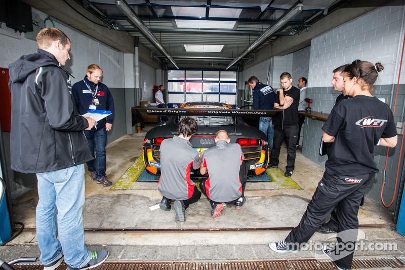 WRT Racing Team Audi R8 LMS ultra - Inspection technique