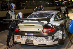 #67 IMSA Performance Matmut Porsche 911 GT3 RSR (997): Erik Marris, Jean-Marc Merlin, Eric Helary