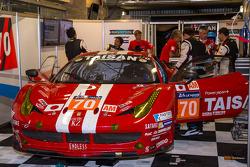 #70 Team Taisan Ferrari 458 Italia: James Rossiter, Pierre Ehret, Martin Rich