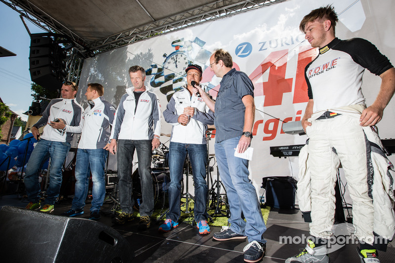 Richard Göransson, Christian Hohenadel, Michael Zehe, Klaus Graf,和Jan Seyffarth