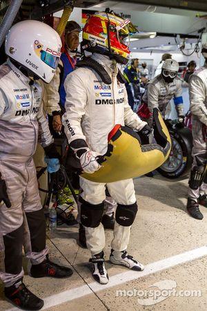 Timo Bernhard prêt pour son dernier relais