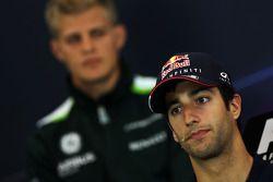 Daniel Ricciardo, Red Bull Racing en la Conferencia de prensa FIA