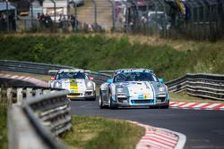 #60 GetSpeed Performance Porsche 997 GT3 Cup: Pascal Bour, Philippe Haezebrouck, Patrick Henry
