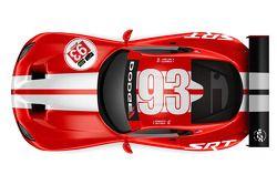 Livrée rétro pour la SRT Dodge Viper