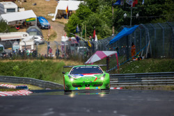#29 GT Corse Rinaldi Ferrari 458 İtalya GT3: Alexander Mattschull, Andrea Barlesi, Pierre Ehret, Mike Jäger
