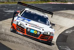 #9 Abt Racing Audi R8 LMS ultra: Peter Terting, Marco Seefried, Dominik Schwager, Nicki Thiim