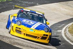 #75 Clickvers.de-Team Porsche 997 GT3: Kersten Jodenix, Wolfgang Destrée, Eddy Althoff, Norbert Paue