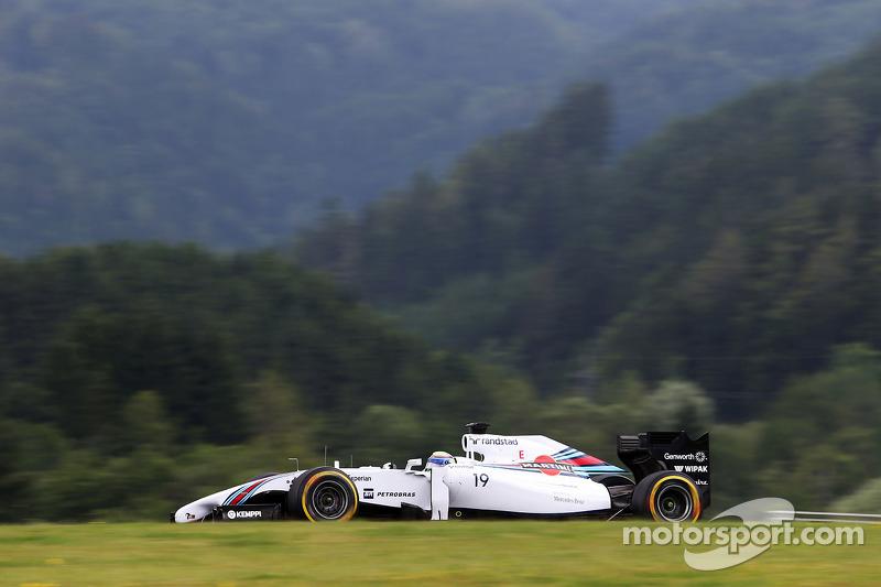 #30: Felipe Massa, Williams FW36, Spielberg 2014: 1.08.759