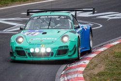 #44 Falken Motorsports Porsche 997 GT3 R: Peter Dumbreck, Wolf Henzler, Alexandre Imperatori