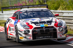 #80 Nissan GT Akademi Takımı RJN Nissan GT-R Nismo GT3: Nick Heidfeld, Alex Buncombe, Lucas Ordonez,