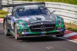#14 Black Falcon Mercedes-Benz SLS AMG GT3: Abdulaziz Al Faisal, Hubert Haupt, Adam Christodoulou