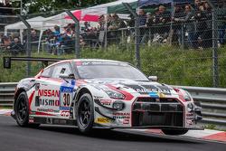 #30 Nissan GT Akademi Takımı RJN Nissan GT-R Nismo GT3: Michael Krumm, Tetsuya Tanaka, Kazuki Hoshin