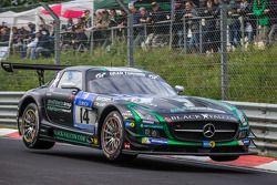 #14 Black Falcon Mercedes-Benz SLS AMG GT3: Abdulaziz Al Faisal, Hubert Haupt, Adam Christodoulou, Y