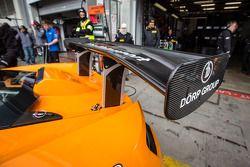#69 Dörr Motorsport McLaren MP4-12C achtervleugel