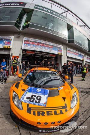 #69 Dörr Motorsport McLaren MP4-12C: Arno Klasen, Rudi Adams, Alvaro Parente, Sebastian Asch