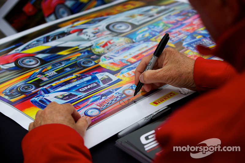 Driver signing PWC poster
