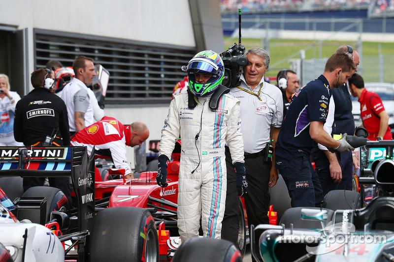 Felipe Massa, Williams FW36 obtiene su pole position 21