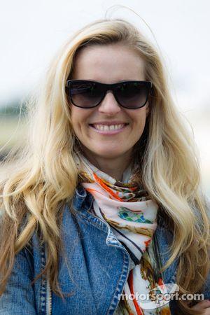 Actrice Eve Scheer