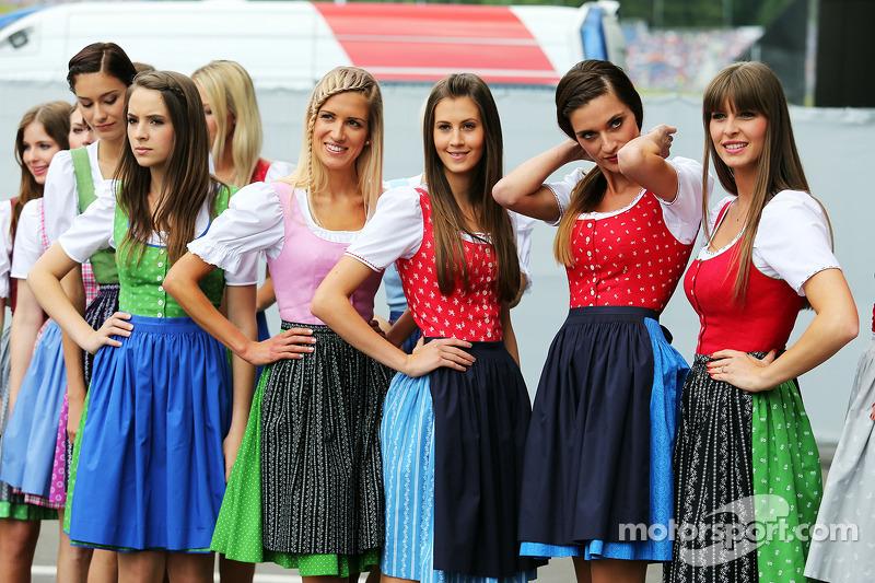 Formula Una kızları
