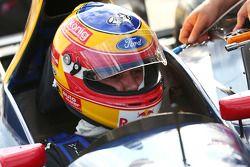 Karl Wendlinger e seu Sauber F1 Car