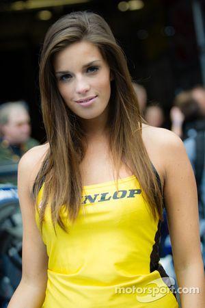 Een mooie Dunlop meid