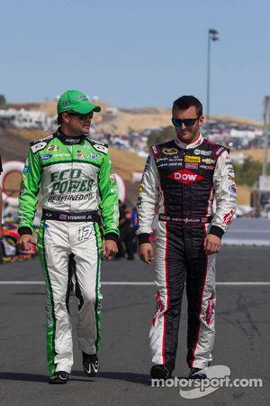 Ricky Stenhouse Jr.,和Austin Dillon