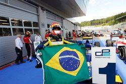 Race winner Felipe Nasr