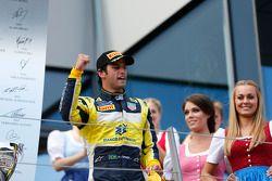 Il vincitore della gara: Felipe Nasr