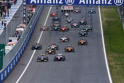 Start: Felipe Nasr lider