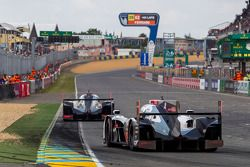#1 Audi Sport Team Joest Audi R18 E-Tron Quattro: Lucas Di Grassi, Marc Gene, Tom Kristensen; #2 Aud