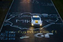 #22 Rowe Racing Mercedes-Benz SLS AMG GT3: Maro Engel, Nico Bastian, Christian Hohenadel, Michael Ze