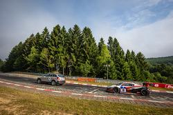 #10 Abt Racing Audi R8 LMS ultra: Christopher Mies, Christer Jöns, Niclas Kentenich, Dominik Schwager behind tow-truck