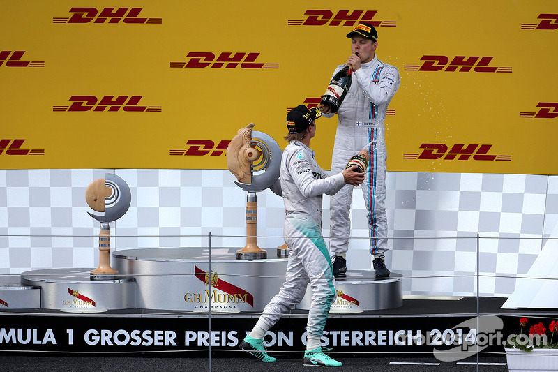 Nico Rosberg, Mercedes AMG F1 Takımı ve Valtteri Bottas, Williams F1 Takımı