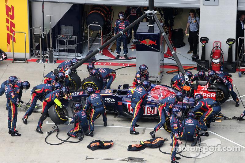 Boxenstopp: Jean-Eric Vergne, Scuderia Toro Rosso