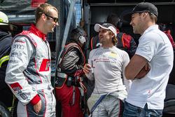 Christopher Haase, Markus Winkelhock et Laurens Vanthoor