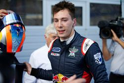 Race winner Alex Lynn